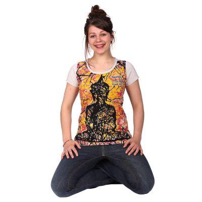 Dámske tričko Mirror s krátkym rukávom Buddha Beige | S, M, L