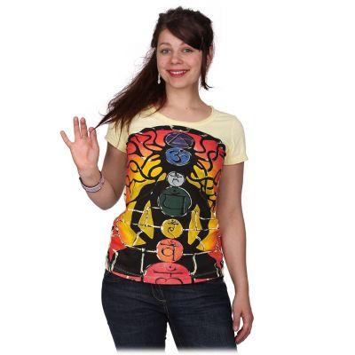 Dámske tričko Mirror s krátkym rukávom Meditation Yellow   S, M, L