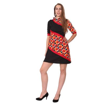 Jarné / jesenné šaty Matanya Merah   S / M, L / XL, XXL
