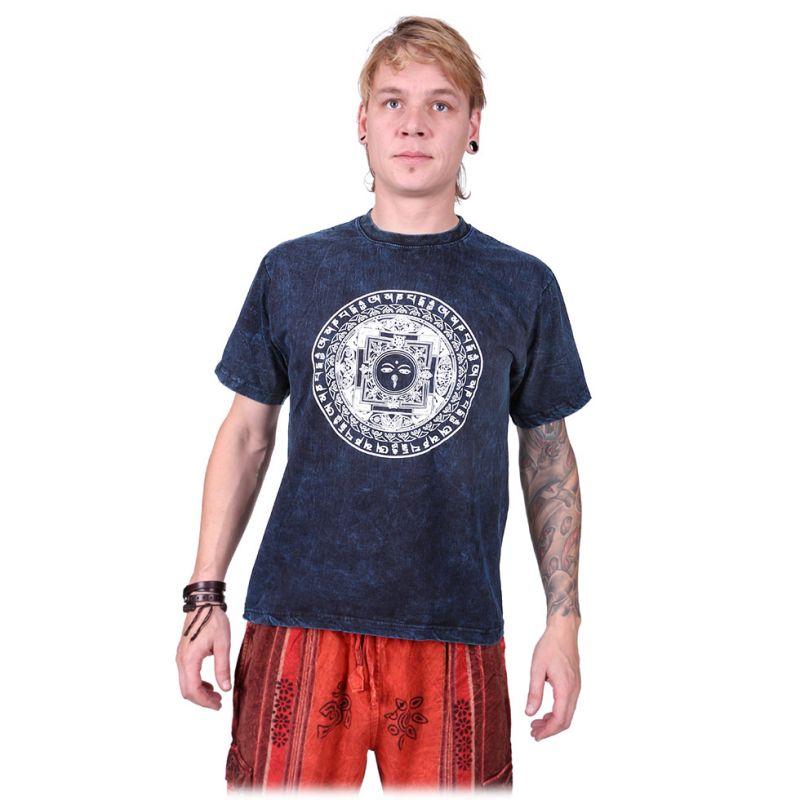 Tričko Kirat Blue Nepal
