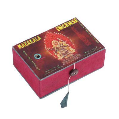 Vonné tyčinky Mahakali Incense v krabičke