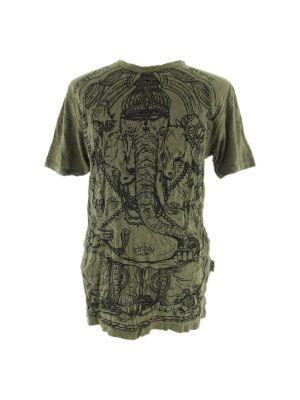 Pánske tričko Sure Angry Ganesh Green | M, L, XL, XXL