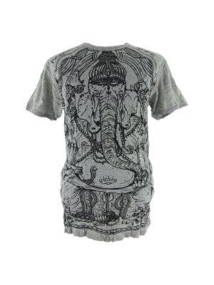 Pánske tričko Sure Angry Ganesh Grey | M, L, XL, XXL