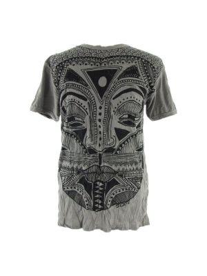 Pánske tričko Sure Khon Mask Grey | M