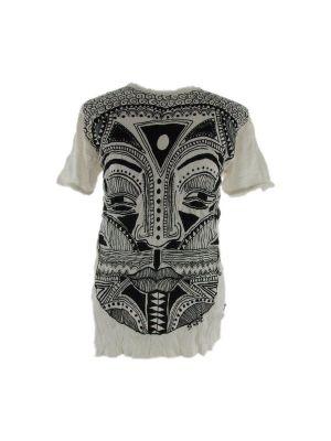 Pánske tričko Sure Khon Mask White | XL