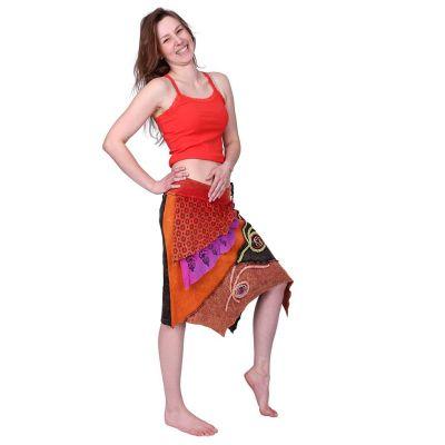 Cípatá vyšívaná sukňa Deveshi