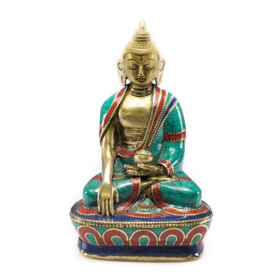 Soška Buddha Bhumisparsa - väčší