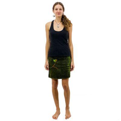 Etno mini sukne Jagatee Hijau | S / M, L / XL