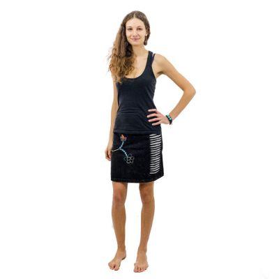 Etno mini sukne Jagatee Hitam | S / M, L / XL