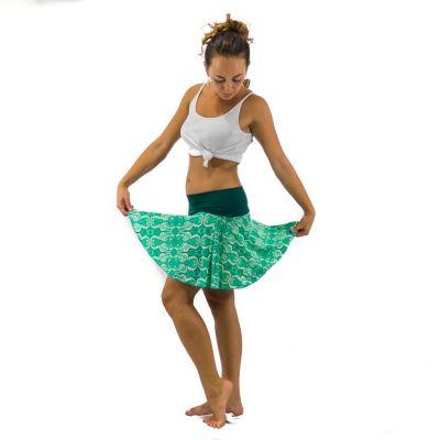 Kolesové mini sukne Lutut Lawan Thailand