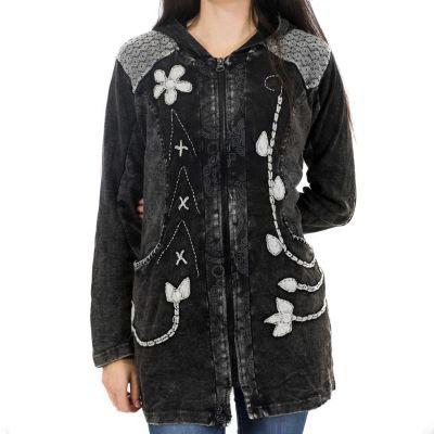 Kabátik Mahima Hitam | nezateplený S, nezateplený M, nezateplený L, nezateplený XL, nezateplený XXL, zateplený S, zateplený M, zateplený XL