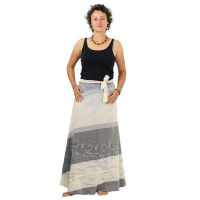 Dlhá zavinovacia sukňa Vasanti Asap | UNI