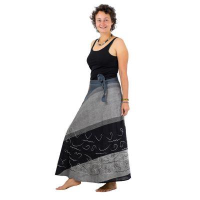 Dlhá zavinovacia sukňa Vasanti bada   UNI