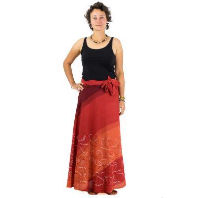 Dlhá zavinovacia sukňa Vasanti Senja | UNI
