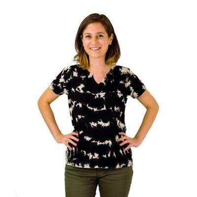 Dámske tričko s krátkym rukávom Benita Black | S, M, L, XL, XXL