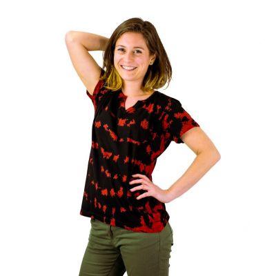 Dámske tričko s krátkym rukávom Benita Red | S, M, L, XL, XXL