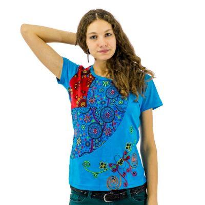 Dámske tričko s krátkym rukávom Nagarjuna Samudra | S, M, L, XL, XXL