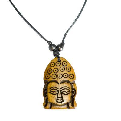 Kostený prívesok Buddha - jednoduchý