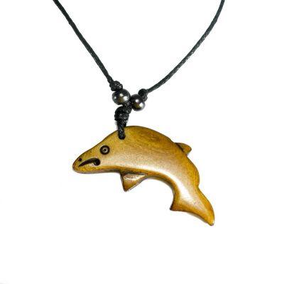Kostený prívesok Delfín - jednoduchý