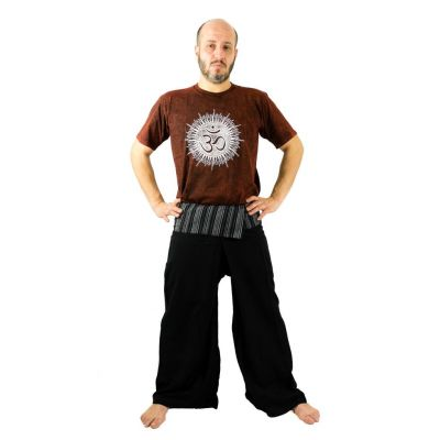 Zavinovacie nohavice Fisherman's Trousers - čierne | UNI