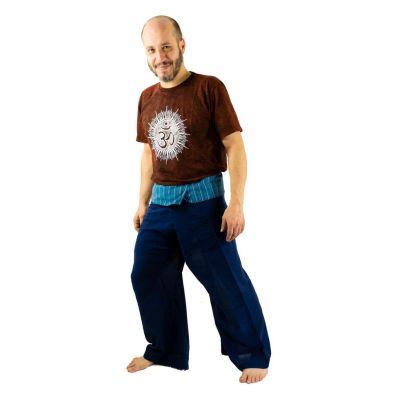 Zavinovacie nohavice Fisherman's Trousers - modré   UNI