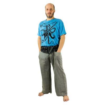 Zavinovacie nohavice Fisherman's Trousers - šedé   UNI