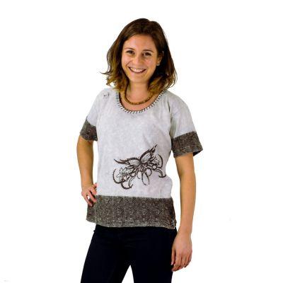 Dámske tričko s krátkym rukávom Sudha Kelabu | S, M, L, XL, XXL