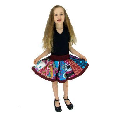 Detská sukienka Karishma Burgundy | S, M, Posledné L, dospelá, UNI