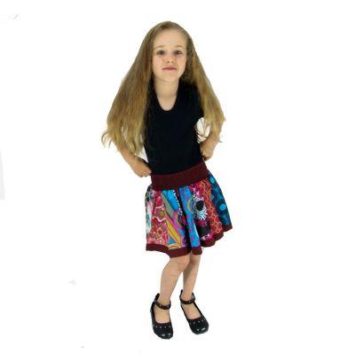 Detská sukienka Karishma Burgundy