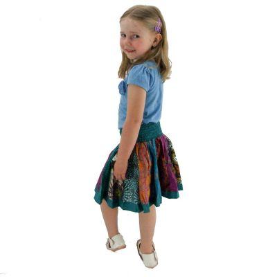 Detská sukienka Karishma Turquoise