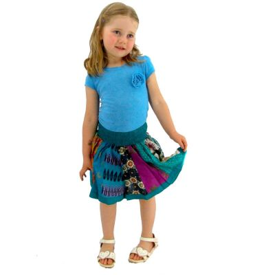 Detská sukienka Karishma Turquoise | S