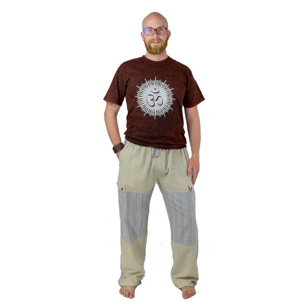 Pánske bavlnené nohavice Kirtipur Tapi Nepal