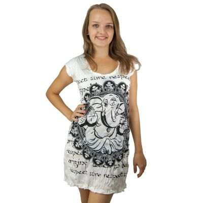 Šaty (tunika) Sure Ganesh White | S, M, L, XL, XXL