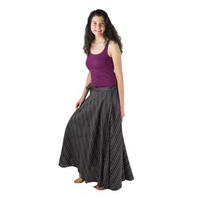 Dlhá zavinovacia sukňa Vasanti Hutan | UNI