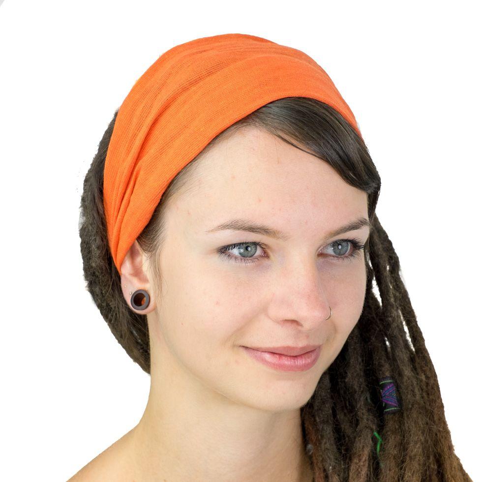 čelenka oranžová