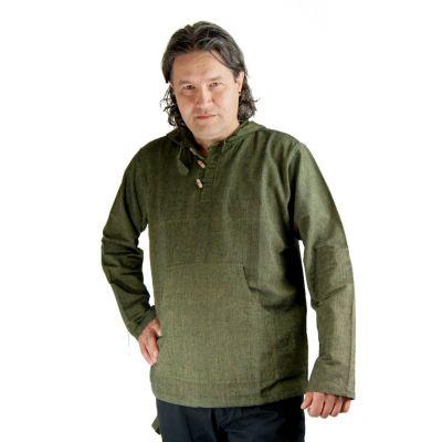 Kurta Ganet Khaki - pánska košeľa s dlhým rukávom | M, L, XL, XXL