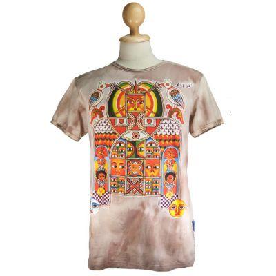 Pánske tričko Sure Aztec Day&Night Brown | M, L, XL, XXL