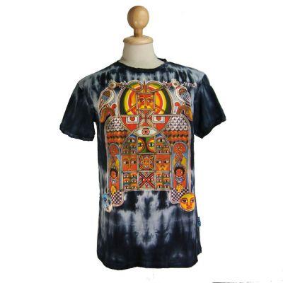 Pánske tričko Sure Aztec Day&Night Black | M, XL, XXL