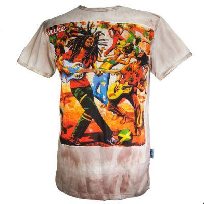 Pánske tričko Sure Bob Marley Brown | M, L