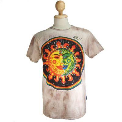 Pánske tričko Sure Celestial Emperors Brown | M, L, XL, XXL