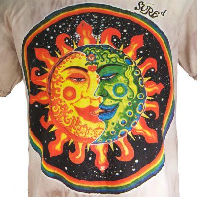 Pánske tričko Sure Celestial Emperors Brown
