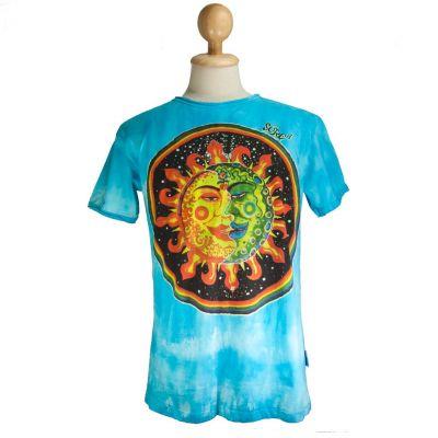 Pánske tričko Sure Celestial Emperors Turquoise | M, L, XL, XXL