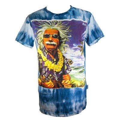 Pánske tričko Sure Einstein on Holiday Blue | M, L, XL, XXL
