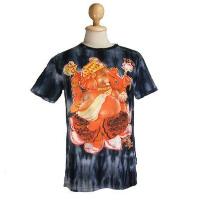 Pánske tričko Sure Ganesh on Lotus Black | M, L, XL