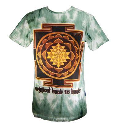 Pánske tričko Sure Sri Yantra Green | M, XL