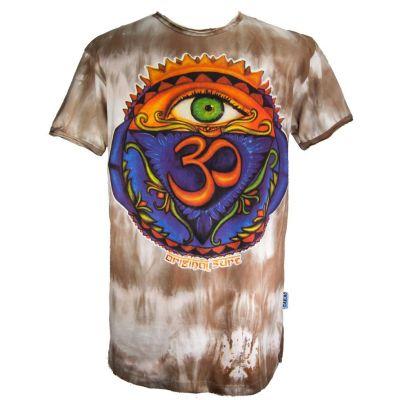 Pánske tričko Sure Third Eye Brown | M, L, XL