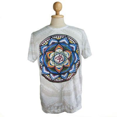Tričko značky Mirror - Holy Lotus White | M, L, XL, XXL