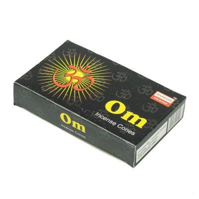 Vonné ihlančeky Darshan Om | Krabička 10 ihlančekov, Balenie 12 krabičiek za cenu 10