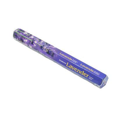 Vonné tyčinky Darshan Lavender | Balenie 6 krabičiek za cenu 5, Krabička 20 tyčiniek