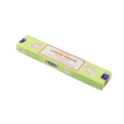 Vonné tyčinky Satya Lemon Grass | Krabička 15 g, Balenie 12 krabičiek za cenu 10